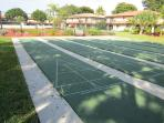 Our common areas provide shuffle board and tennis courts,in magnificent ,garden-like setting