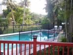Pool from deck.