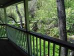 View off the side deck.