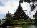 Nearby Temple an amazing building 100m high, biggets wooden temple in the world.
