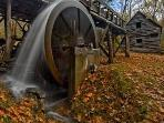 Dillinger's Mill, just down the road, fully functional