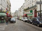 View of the Rue Lepic