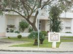 The entrance to Casitas Das Andainas