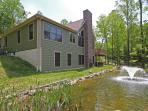 back side of lodge-  33 plus secluded acres
