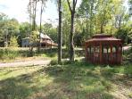 33 scenic and private acres, no other cabins in sight