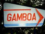 Sign to Gamboa