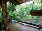 Kitchen - counterspace with a view