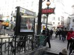 Location, Location, Location. Walking distance and metros make the sites of Paris easy to see.