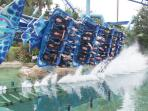 Rollercoaster at SeaWorld