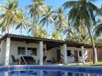 2 BR - Quiet Oceanfront Villa (Playa El Majague)