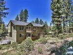 Backyard during summer  Elk View at Tahoe