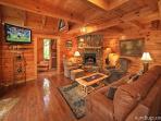 Highlander #224- Living Room with Flat Screen TV
