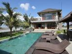 View of villa & swimming pool