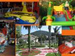 Lapad bay, the promenade and children's park
