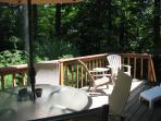 FRONT DECK AND CHAIRS