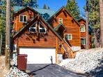 Front view of our beautiful Tahoe home