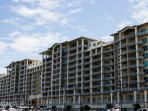 Wharf Condos from Intracostal Waterway