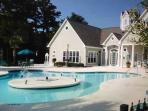 Club house, pool, fitness room