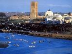 view onto Rabat skyline from Salé