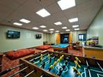 Game Room at Miners Club