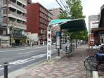 5 min walk to City Bus Stop, Shijo Onmae