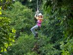 Take a ride on the wild side - Zipline at Chukka