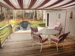 Retractible Electric Awning-Outdoor Room
