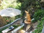 Cayote Wood Sculpture