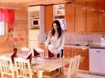 Ninnunlahti cottage kitchen