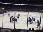 Lightning Hockey Match