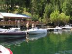 The Boat House/The restaurant on the lake
