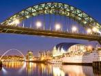 Luxury Short Term Apartment to let. Gateshead Newcastle Quayside