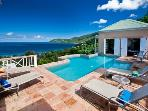 Scenic 3 Bedroom Villa on Tortola's West End
