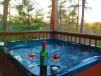 Relax in Jacuzzi