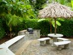 BBQ or just relax in a hammock on our patio