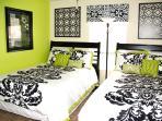 Bedroom 4 - 2 Double Beds