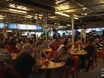 A few minutes walk to Long Beach Hawker stalls .... so much food!!!