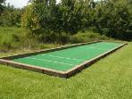 Bocce ball court.  We have the bocce balls in the condo so you don't have to rent them.