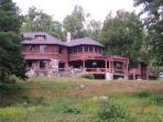 Lakefront Adirondack Great Camp: Pristine & Unique