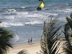 Gorgeous, pristine beach, perfect for kite surfing if you are the adventurous kind