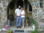Innkeepers Bonnie & Ed Strosser