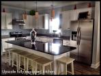 Fully equipped kitchen - dishes, glasses and utensils for 30