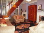 Experience a piece of 1875 history with our original brick fireplaces and heart of pine floors