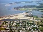 Aerial of Cape Charles