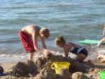 Quiet Beach for Children Friendly