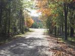 Fall View of Jensen Road
