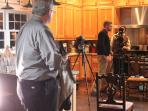 The Travel Channel Films a Segment in the Farmhouse