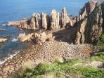 The Pinnacles - located at the Cape