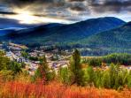 Visit nearby Wallace, Idaho