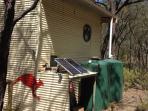Solar and rainwater